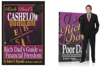 Rich Dad Poor Dad Part 1 and Part 2 - The two books of Kiyosaki that can put you on the right track.