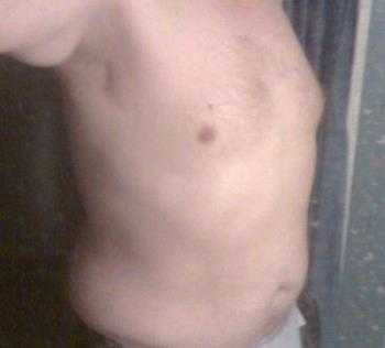 my upper body on March 20, 2010 - my upper body on March 20, 2010.
