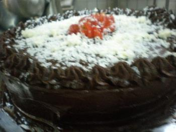 Chocolate cake - This is a chocolate cake