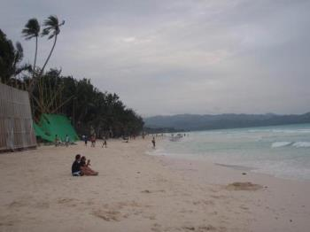 Boracay Island - here is a picture of Boracay when I was there September of 2009.