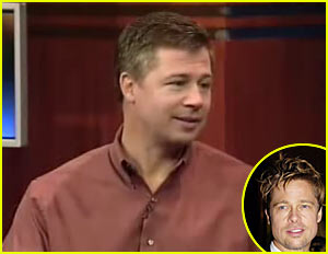 doug pitt. brad's brother - look-a-like of filipino celebrity robin da rosa.