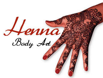 henna tattoo - sticker like tattoo