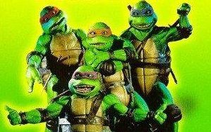 Teenage Mutant Ninja Turtles - My sons adored the Ninja Turtles when they were little. They dressed up like them for Halloween once.