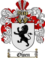 The Owen family crest - This is the official crest of my family
