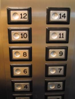 13th floor - No 13th floor in the building