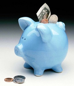 Piggy bank - I have made it a habit to save money in my piggy bank!