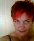 me with bright red hair last year................. - me with bright red hair last year.....................