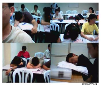 sleeping in class - have you slept in your class?