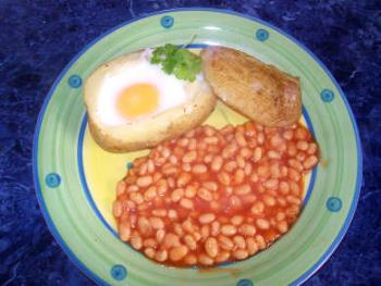 Egg in Jacket - A really great quick and easy lunch recipe