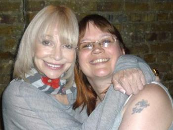 Me and Katy - Me with Katy Manning from Dr Who