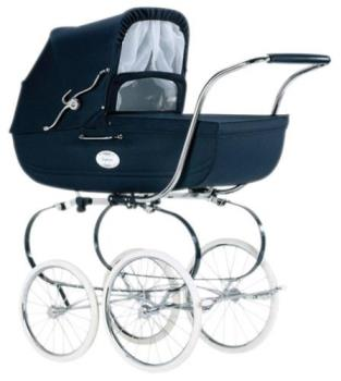 Perambulator or 'pram' - Traditional pram