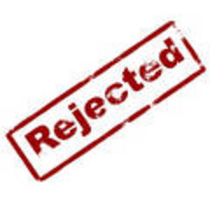 Rejection try again don give up. - Sometime u need to analyze why rejection ? Maybe i need to improve?