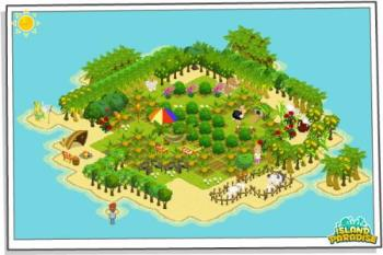 Island Paradise - Island Paradise is a game on facebook