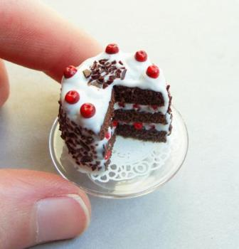 Mini black FOREST CAKE - nOTHING compares.