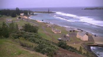Ruins of Kingston, Norfolk Island - This is what is left today of the convict settlement of Kingston which was started in 1788 as a place to take the worst criminals away from the settlement of Sydney. It was a very brutal and harsh life here in those days.