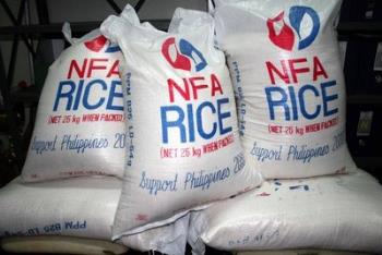nfa rice - what a waste when it should been in the stomachs of the poor