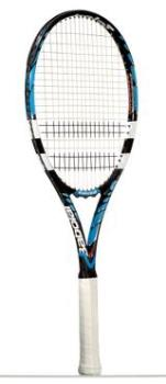 A tennis racquet (UK), racket (US) - This is the type of tennis racquet I purchased.