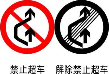 No Passing sign - Traffic signs