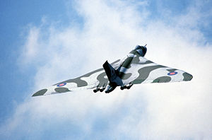 Vulcan - Avro Vulcan bomber