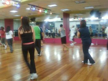 Group Exercise - This is a hip hop session during Wednesdays at ABS CBN branch
