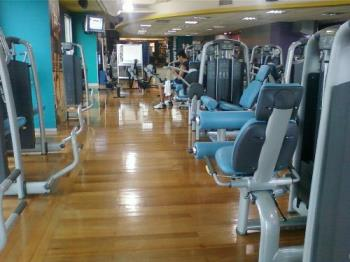 I have my to go gym - I spend my time in working out at gyms.