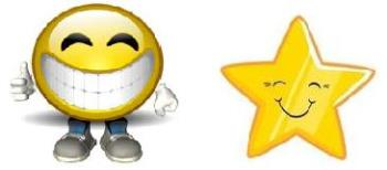 smile and star - where did they go? have you seen them?