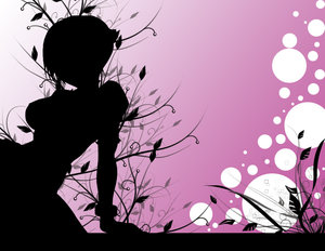 my FB avatar - A cute pink avatar that expresses my individuality.