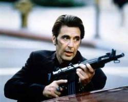 Al Pacino in Heat - Starring as Vincent Hanna