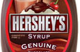 Hershey's chocolate syrup - The front of the label from a bottle of Hershey's Chocolate Syrup