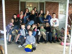 Dakota's party - most of the kids at the party