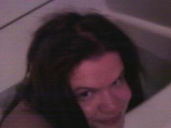 Me in the tub - Don't freak out, this is me in the tub, but I'm not showing anything that shouldn't be shown. Lol. I did this as a joke.