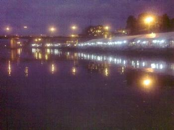 Tiangge in Marikina - The view from across the river