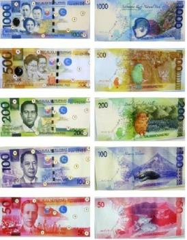 Philippine peso bill - New Philippine peso bills