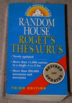 My Thesaurus - One of my favorite books of all time a Thesaurus!