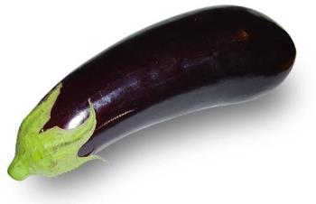 European Aubergine - This is the type most often seen in Europe