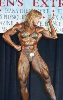 Woman Bodybuilder - She looks lie a man! That is nuts! That is not femine!