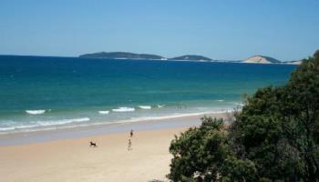 Rainbow Beach, Queensland - Rainbow Beach with it's coloured sands.