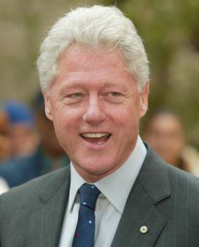 bill clinton  - us president bill clinton