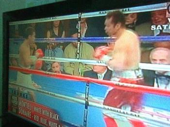Donaire vs Montiel - The show on TV.