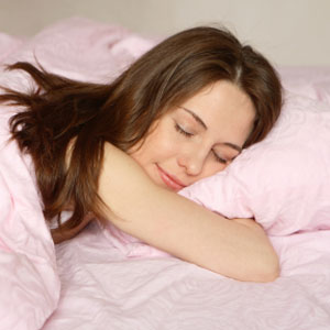 Such a relaxing sleep - I wish I have this wonderful sleep like her