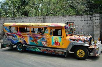 jeepney - public transport jeepney