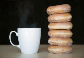 Donuts And Coffee - A little coffee and donuts for Ms.Gerty and us all!