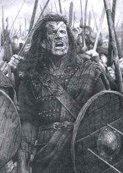 Mel Gibson in Braveheart - Mel Gibson in Braveheart