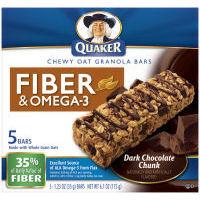 Quaker Oats Breakfast Bars - Quaker Oats Breakfast Bars with chocolate