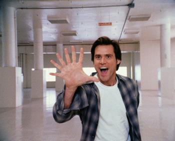 Bruce Almighty - This is a example of bruce almighty scene!
