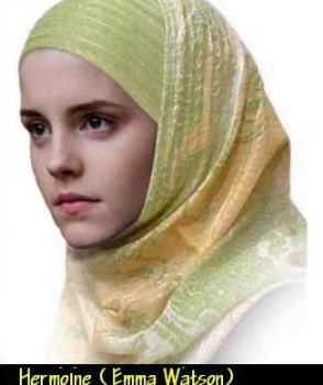 emma watson - she converted to muslim