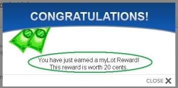 mylot reward ,how its looks like? - this a pic of mylot reward ..yes you also can earn this kind of reward while using the mylot search