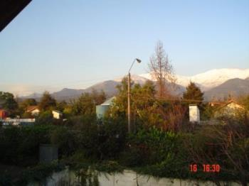 The mountains in Winter from my balcony - This is how near I see the Andes
