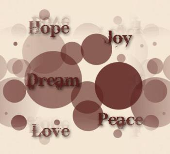 hope and dream - we always need them in our life