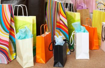 Shopping Bags - Colorful shopping bags